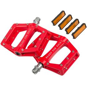 Cube RFR Flat Race - Pédales - rouge